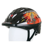 Bumper Force Helmet Black/Orange 52-56cm