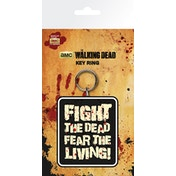 The Walking Dead Fight The Dead Key Ring