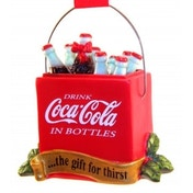 Coca Cola Bottle Cooler Christmas Tree Decoration