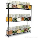 3 Tier Herb & Spice Rack | M&W Black New