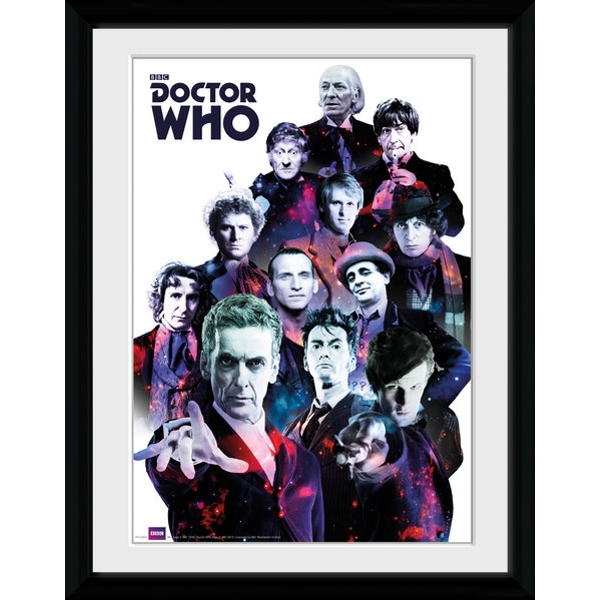 Doctor Who Cosmos Collector Print