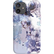 tech21 EcoArt Collage White and Blue for Apple iPhone 12 mini 5G - Fully Biodegradable Phone Case with 3 Meter Drop Protection