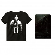 Dark Souls 2 II T-shirt Large and Metal Sign