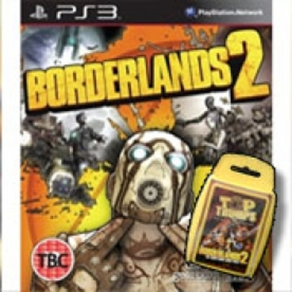 Borderlands 2 The Premiere Club Pre-Order Game  & Limited Edition Top Trumps PS3
