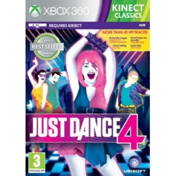 Kinect Just Dance 4 Xbox 360 Classics Xbox 360 Game