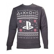 Playstation Mens Logo X-Large Christmas Jumper