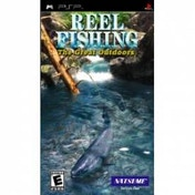 Reel Fishing The Great Outdoors Game PSP