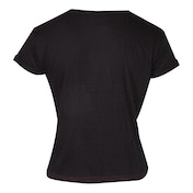 Nintendo - Snes Logo Women's Small T-Shirt - Black