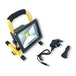 Infapower F049 20W LED Portable Rechargeable COB Worklight UK Plug - Image 2