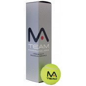 MANTIS Team Tennis Balls Tube of 4