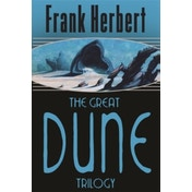 The Great Dune Trilogy:  Dune ,  Dune Messiah ,  Children of Dune by Frank Herbert (Paperback, 2005)
