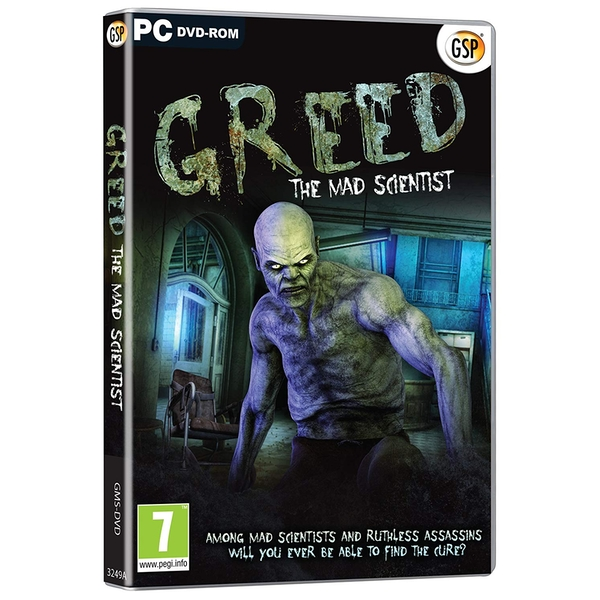 Greed The Mad Scientist PC Game