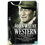 John Wayne: Western Triple (The Man Who Shot Liberty Valance, The Sons of Katie Elder, The Shootist) DVD