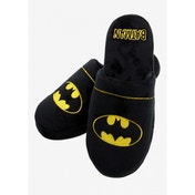 Batman DC Comics Slippers Black Large - UK 8-10