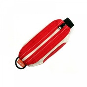 Long Paws Black Large Pick Pocket Pouch Red