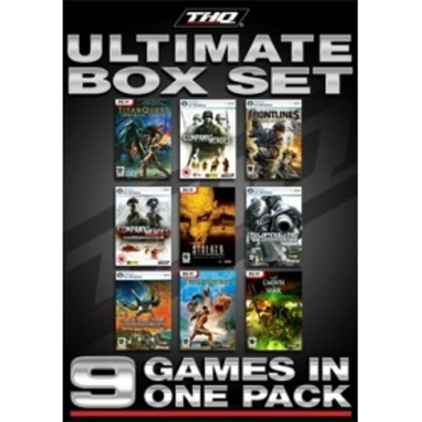 THQ Ultimate 9 Game Box Set PC