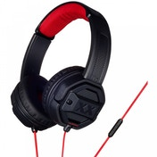 JVC HASR50XB Xtreme Xplosives On Ear Headphones with Remote & Mic Black