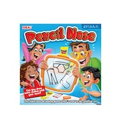 Pencil Nose Drawing Game [Used - Like New]