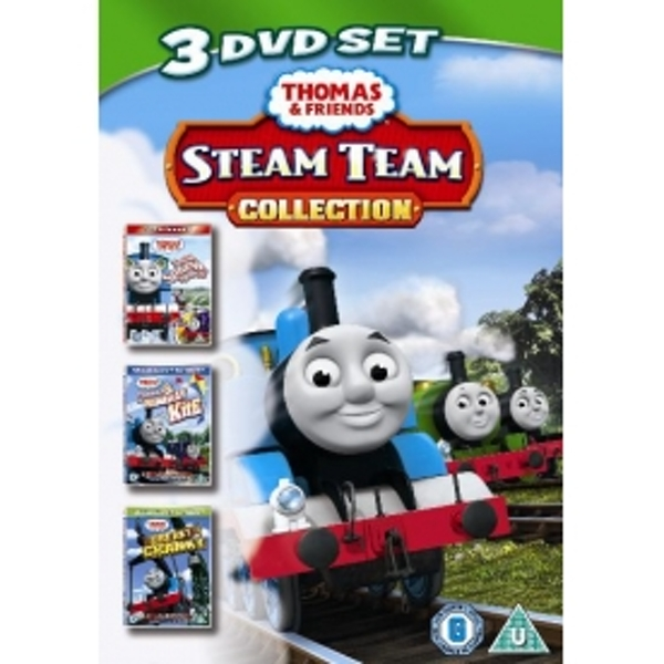 Thomas & Friends Steam Team Collection DVD