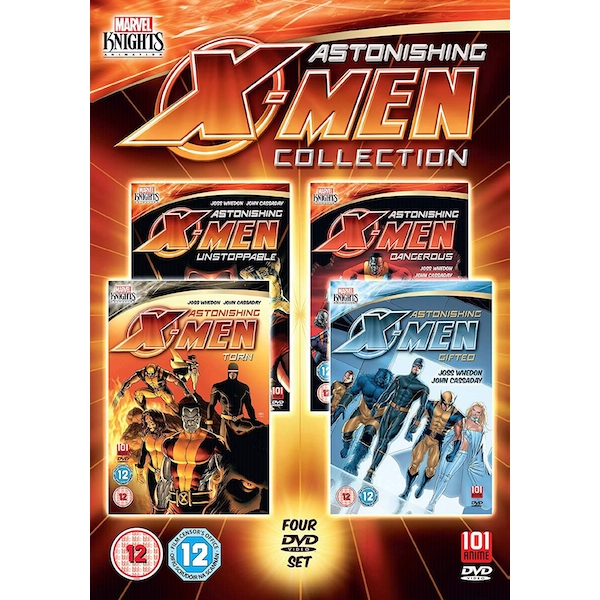Astonishing X-Men: Collection DVD