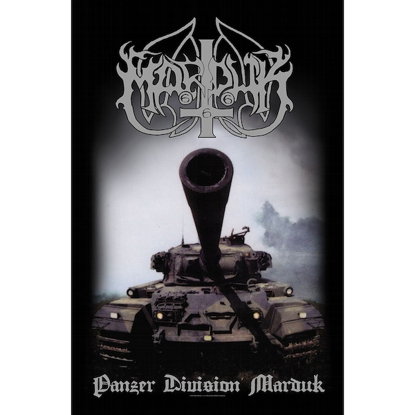 Marduk - Panzer Division 20th Anniversary Textile Poster
