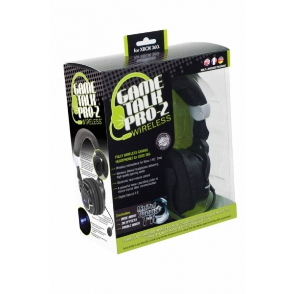 Game Talk Pro-2 Wireless Headset Xbox 360