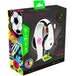STEALTH Street Gaming Headset with Stand (White with Black/Graffiti Stand) - Image 4