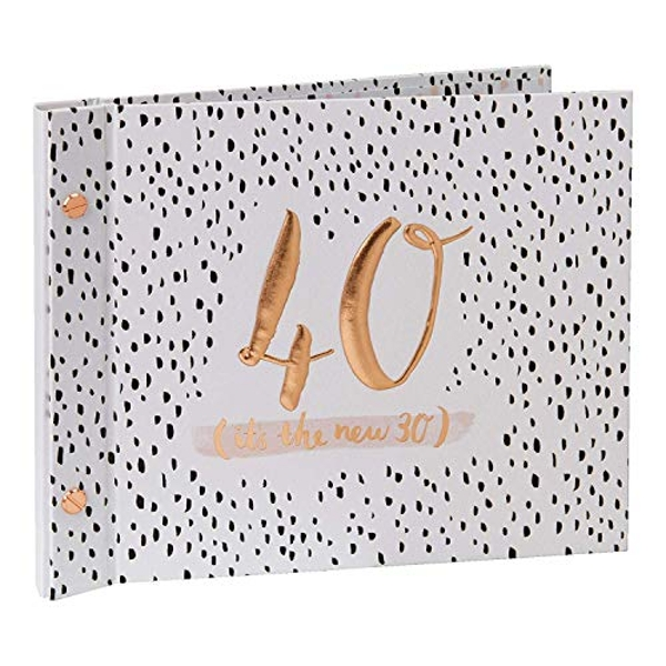 Luxe Birthday Photo Album & Guest Book - 40