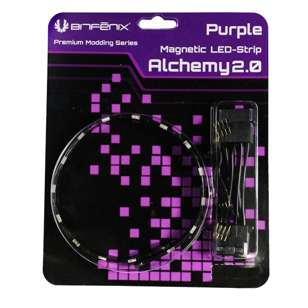 BitFenix Alchemy 2.0 Magnetic Connect 15 LED-Strip 30cm Purple