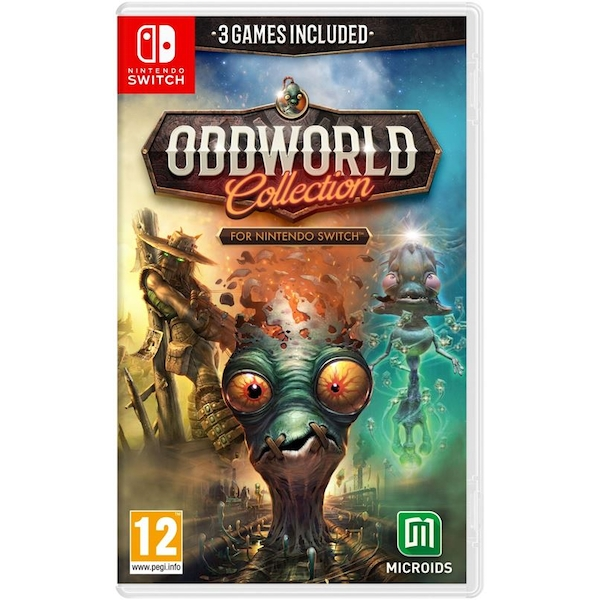 Oddworld Collection Nintendo Switch Game