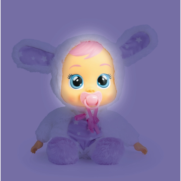 Cry Babies Goodnight Coney Interactive Doll