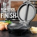 Savisto Electric Omelette Maker - Black UK Plug - Image 3