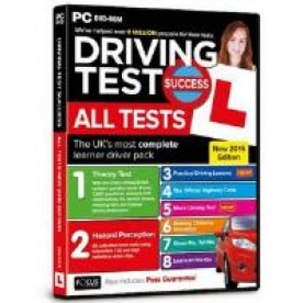 Focus Multimedia Driving Test Success All Tests 2016 Edition for PC DVD-ROM