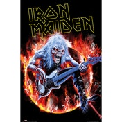 Iron Maiden Fear Live Maxi Poster