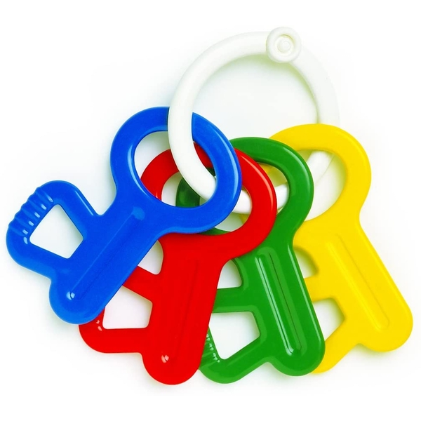 First Keys Rattle & Teether Toy