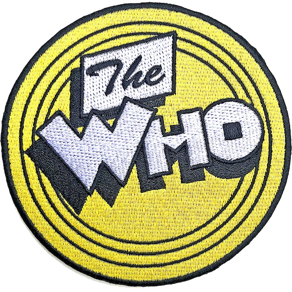 The Who - Yellow Circle Standard Patch