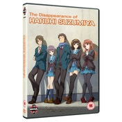 The Disappearance of Haruhi Suzumiya DVD