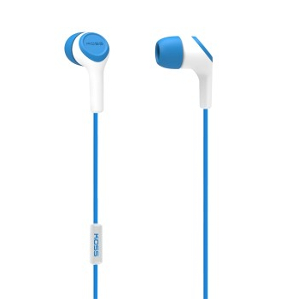 "Koss ""KEB15i"" In-Ear Headphones, blue"