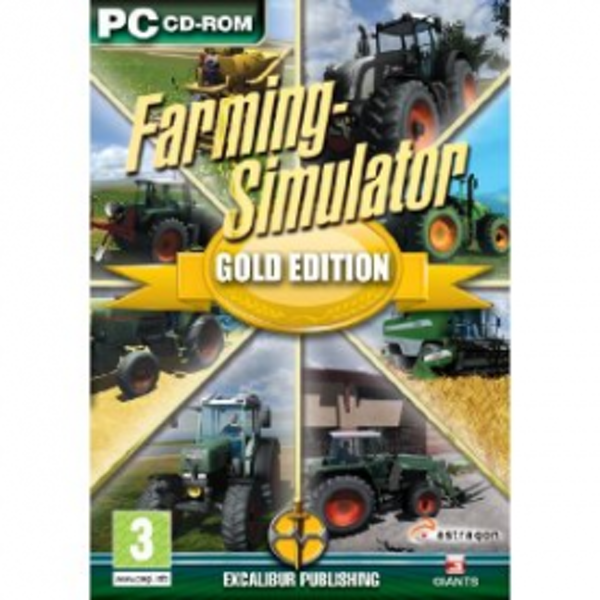 Farming Simulator Gold Edition Game PC