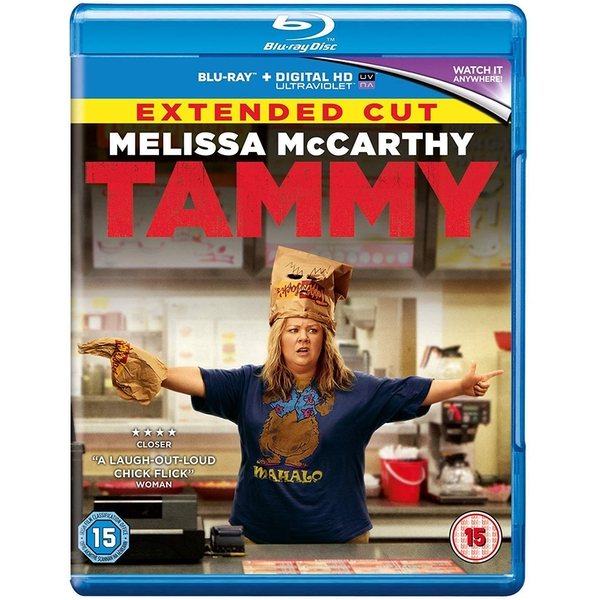 Tammy - Extended Cut Blu-Ray