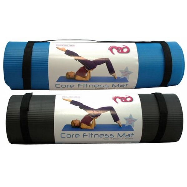Core Fitness Mat Black