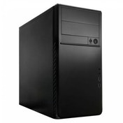 Ace Ecco 250 Black Interior Soundproofed Toolless Micro-ATX Case Black