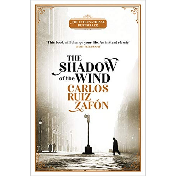 The Shadow of the Wind by Carlos Ruiz Zafon (2018, Paperback)