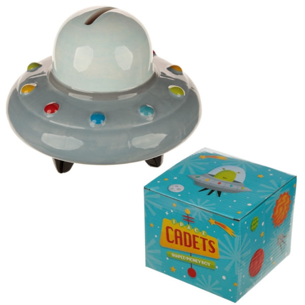 Space Ship Money Box