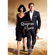 James Bond - Quantum of Solace Postcard