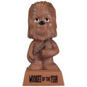 Star Wars Wacky Wisecracks Chewbacca Wookie of the Year Figure