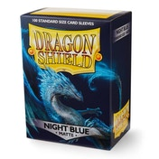 Dragon Shield Matte - Night Blue 100 Sleeves in Box - 10 Packs
