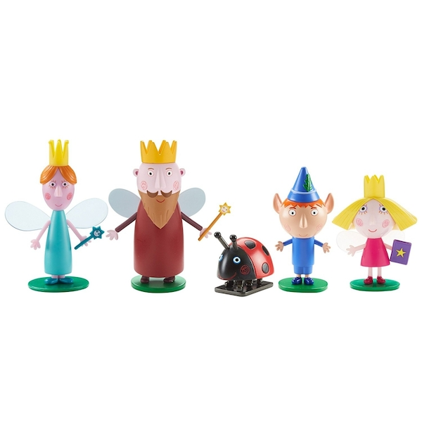 Ben & Holly Five Figure Pack