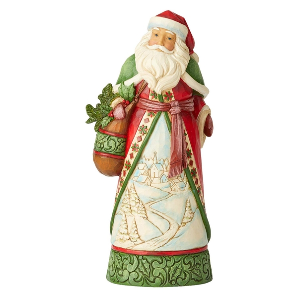 Christmas Is Calling Figurine