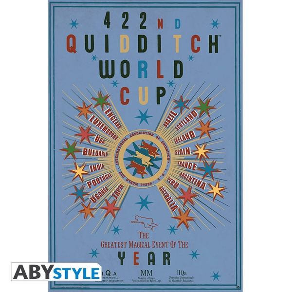 Harry Potter - Quidditch World Cup (91.5 x 61cm) Large Poster
